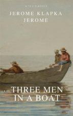 Three Men in a Boat  (ebook)