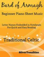BARD OF ARMAGH BEGINNER PIANO SHEET MUSIC