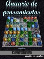ANUARIO DE PENSAMIENTOS (ebook)