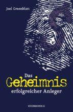 DAS GEHEIMNIS ERFOLGREICHER ANLEGER