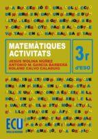 Matemàtiques. 3r ESO. Activitats (ebook)