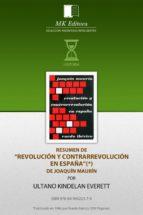Resumen de Revolución y Contrarrevolución, de Joaquin Maurin (ebook)