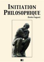 Initiation philosophique (ebook)