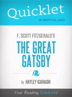 QUICKLET ON F. SCOTT FITZGERALD THE GREAT GATSBY