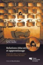 RELATIONS ÉDUCATIVES ET APPRENTISSAGE