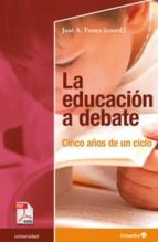 La educación a debate (ebook)