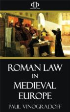 Roman Law in Medieval Europe (ebook)
