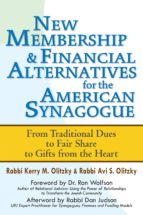 New Membership & Financial Alternatives for the American Synagogue (ebook)