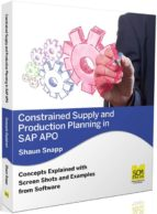 CONSTRAINED SUPPLY AND PRODUCTION PLANNING IN SAP APO
