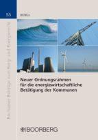Neuer Ordnungsrahmen für die energiewirtschaftliche Betätigung der Kommunen (ebook)