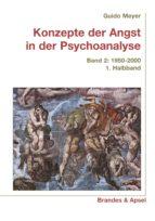 KONZEPTE DER ANGST IN DER PSYCHOANALYSE BD. 2/1