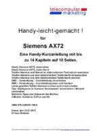 Siemens AX72-leicht-gemacht (ebook)