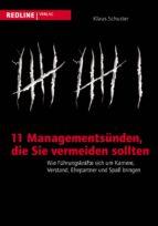 11 Managementsünden, die Sie vermeiden sollten (ebook)