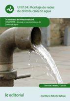 Montaje de redes de distribución de agua. ENAT0108 (ebook)