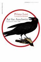 Así fue Auschwitz (ebook)