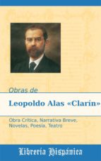 OBRAS DE LEOPOLDO ALAS CLARÍN