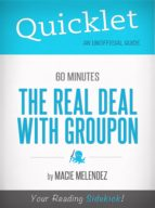 THE TRUTH ABOUT GROUPON, 60 MINUTES STORY - A HYPERINK QUICKLET