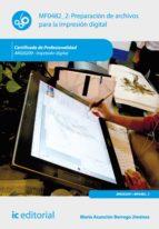 Preparación de archivos para la impresión digital. ARGI0209 (ebook)