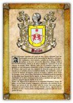 Apellido Bullón / Origen, Historia y Heráldica de los linajes y apellidos españoles e hispanoamericanos