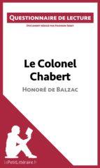 Le Colonel Chabert de Balzac (ebook)