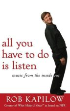 All You Have to Do is Listen (ebook)
