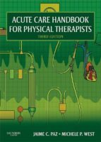 Acute Care Handbook for Physical Therapists - E-Book (ebook)
