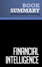 Summary: Financial Intelligence - Karen Berman and Joe Knight (ebook)