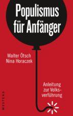 Populismus für Anfänger (ebook)