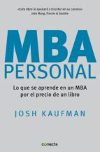 MBA Personal (ebook)