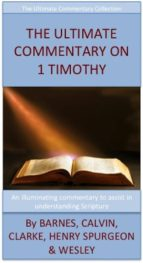 The Ultimate Commentary On 1 Timothy (ebook)