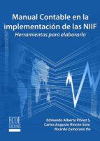 Manual contable en la implementación de las NIIF (ebook)