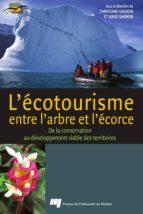 L'écotourisme, entre l'arbre et l'écorce (ebook)