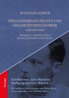 Philosophiegeschichte und Geschichtsphilosophie-Vorlesungen (ebook)