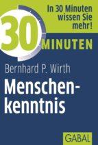 30 Minuten Menschenkenntnis (ebook)