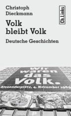 VOLK BLEIBT VOLK