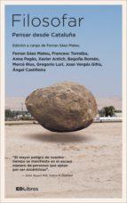 Filosofar. Pensar desde Cataluña (ebook)