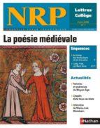 COLLECTION NRP : LA POÉSIE MÉDIÉVALE (FORMAT PDF)