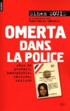 OMERTA DANS LA POLICE
