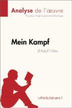 Mein Kampf d'Adolf Hitler (Analyse de l'oeuvre) (ebook)