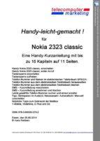 NOKIA 2323 classic leicht-gemacht (ebook)