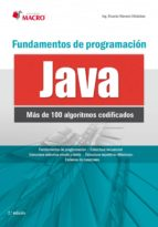 Fundamentos de programación con JAVA (100 algoritmos codificados)