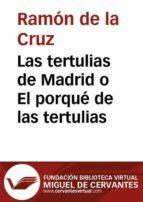 Las tertulias de Madrid o El porqué de las tertulias (ebook)