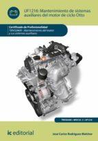 Mantenimiento de sistemas auxiliares del motor de ciclo Otto. TMVG0409 (ebook)
