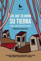 LOS QUE DEJARON SU TIERRA