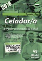 CELADOR/A SERVICIO EXTREMEÑO DE SALUD. TEMARIO Y TEST
