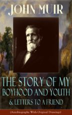 John Muir: The Story of My Boyhood and Youth & Letters to a Friend (Autobiography With Original Drawings) (ebook)