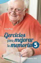 EJERCICIOS PARA MEJORAR LA MEMORIA / 5