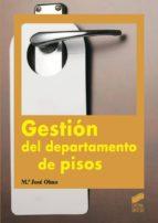 Gestión del departamento de pisos (ebook)