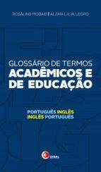 Glossário de termos acadêmicos e de educação (ebook)
