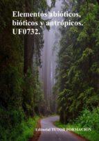 ELEMENTOS ABIÓTICOS, BIÓTICOS Y ANTRÓPICOS. UF0732. (ebook)